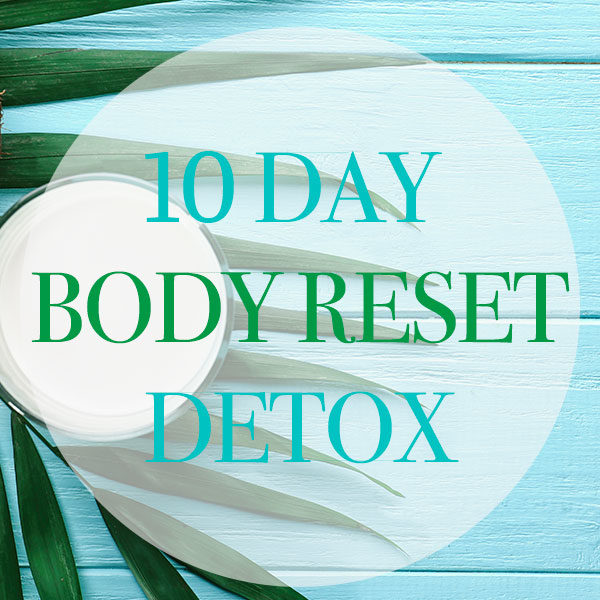 10 day body reset detox program product image