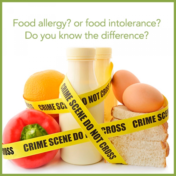 food allergy vs sensitivity