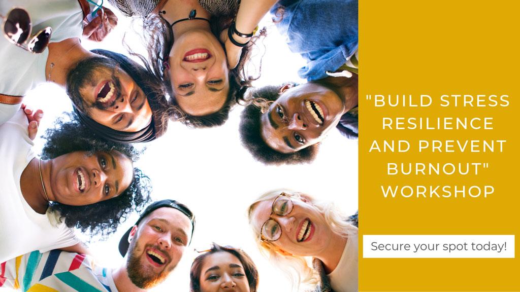 build stress resilience workshop banner