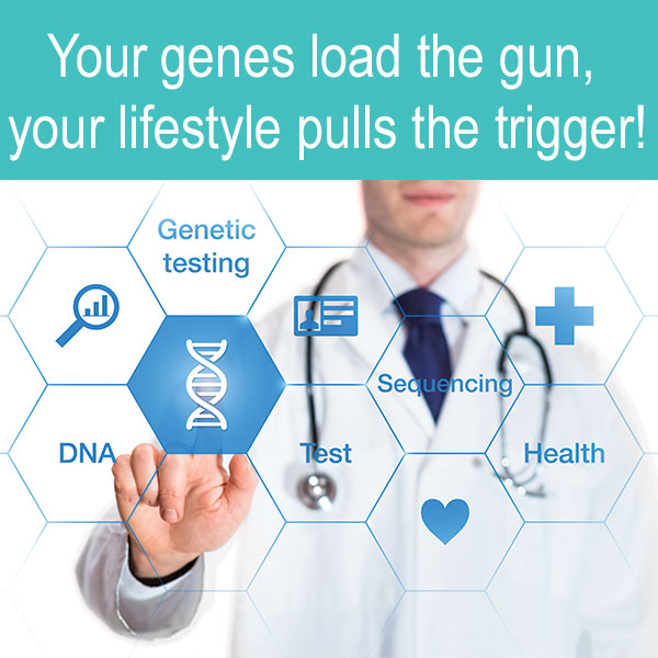 your genes load the gun genetic testing